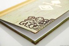 Klemmkarte Woody Vintage - Gastrotopcard