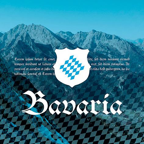 Bavaria - Individuelles Speisekarten Design